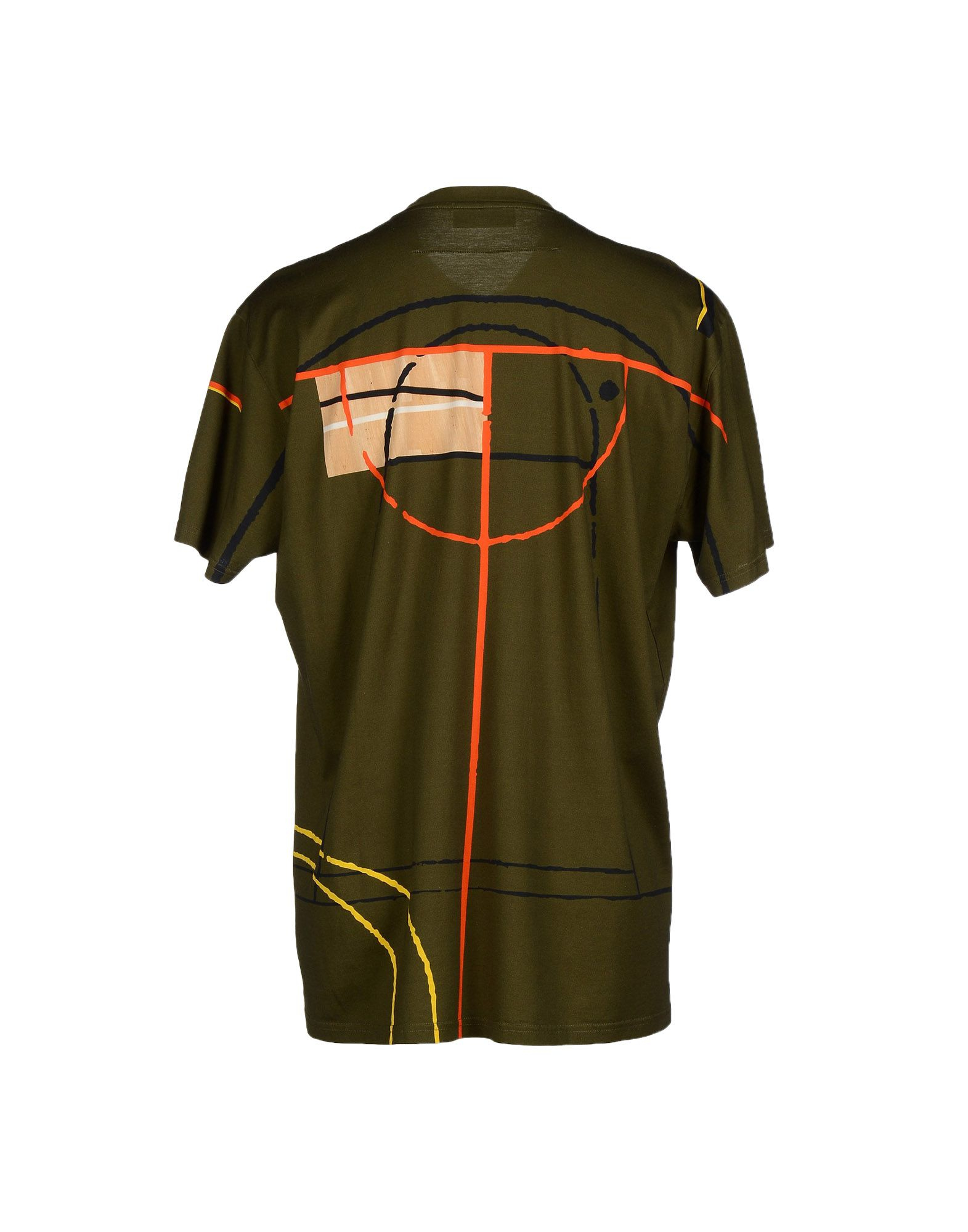 Givenchy t shirt in green for men lyst for Givenchy t shirt man
