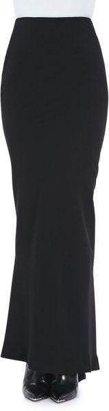 Haider Ackermann Pencil Skirt in Black