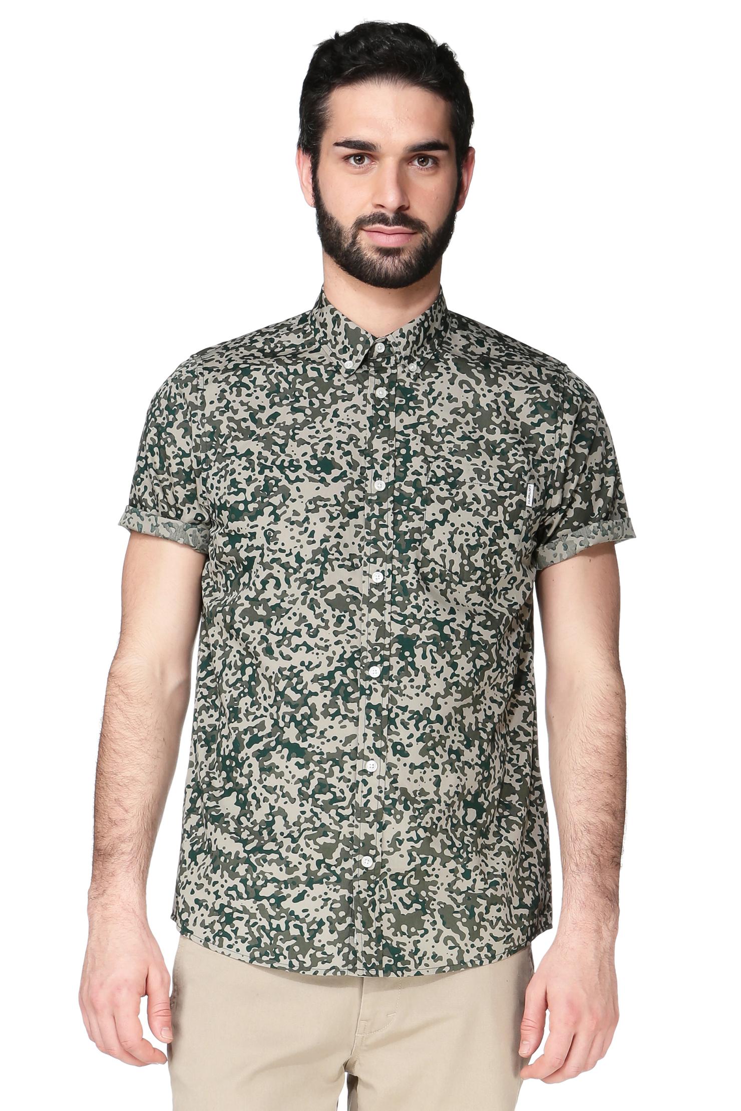 Carhartt Short Sleeve Shirt in Green for Men