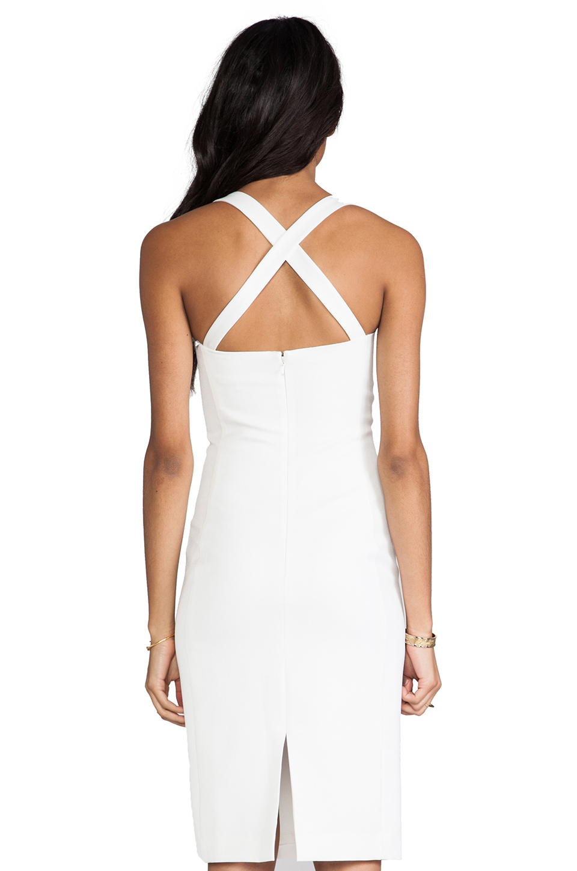 cd5238b7 Lyst - Black Halo Bryson Dress in White in White