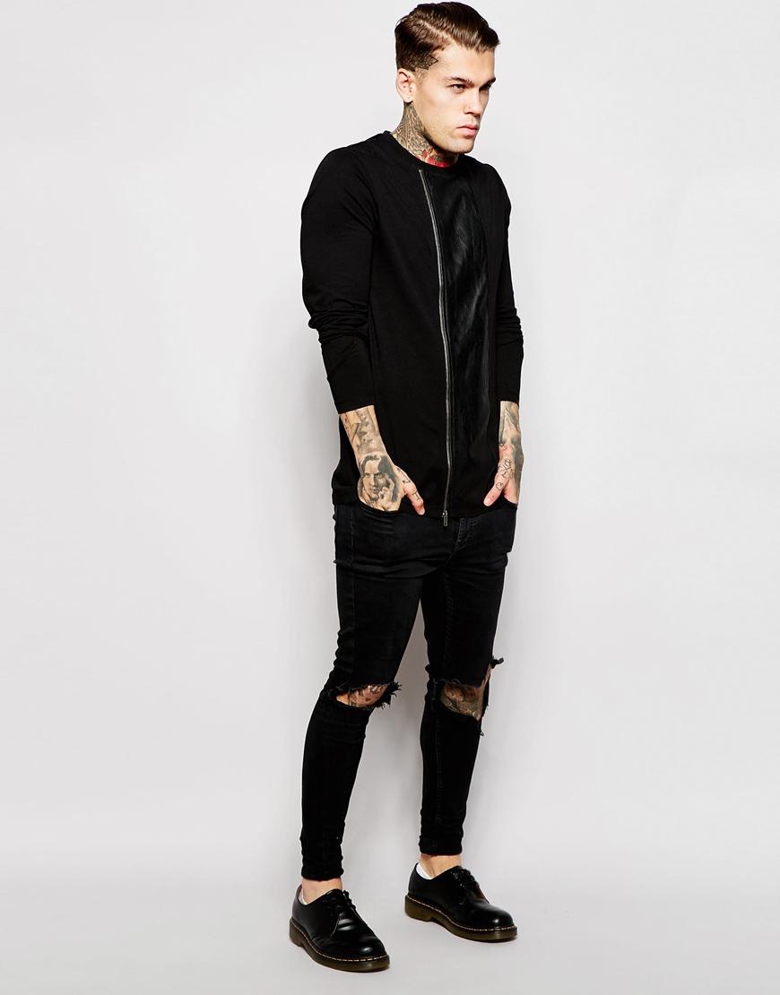 Black t shirt zips - Gallery