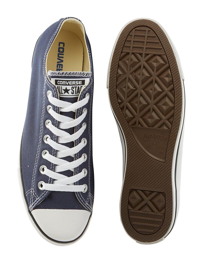 efc1d594843b Converse Chuck Taylor All Star Lean Plimsolls Grey in Blue for Men ...