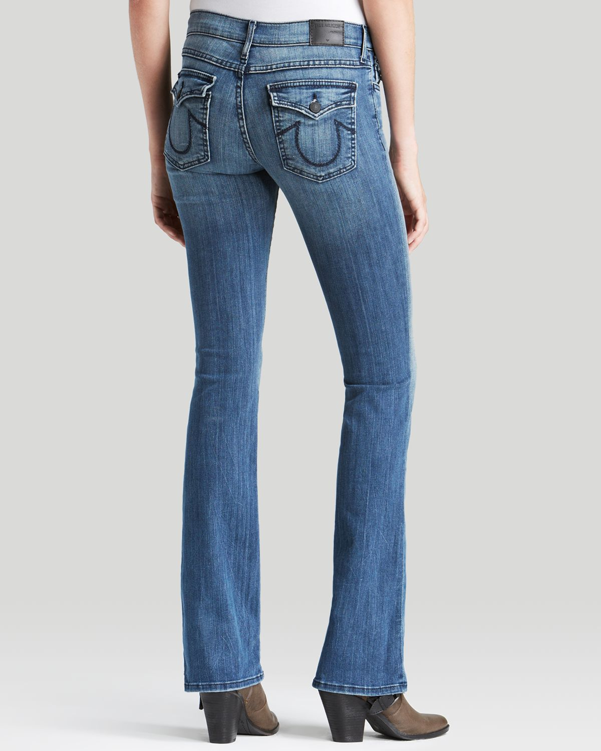 true religion jeans becca mid rise bootcut in earth 39 s. Black Bedroom Furniture Sets. Home Design Ideas