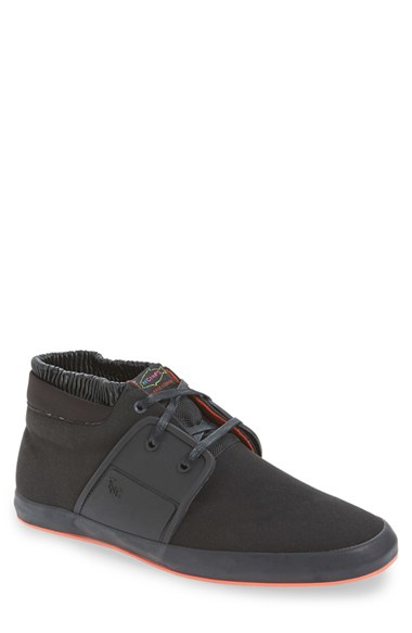 Fish n chips 39 slaw 39 sneaker in black for men lyst for Fish and chips shoes