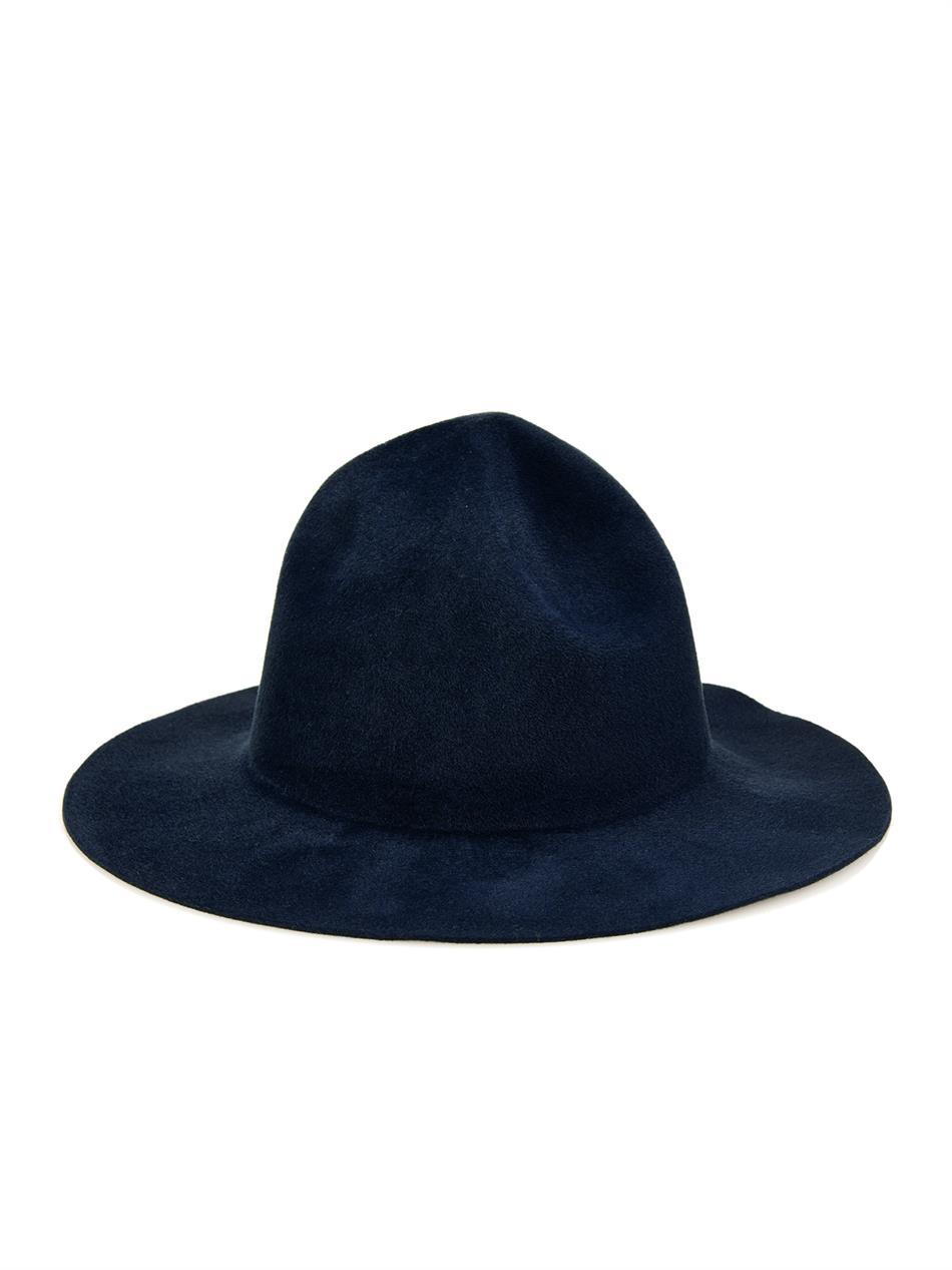 Lyst - Burberry Prorsum The Campaign Rabbit-Felt Hat in Blue for Men 6b5fb094bea
