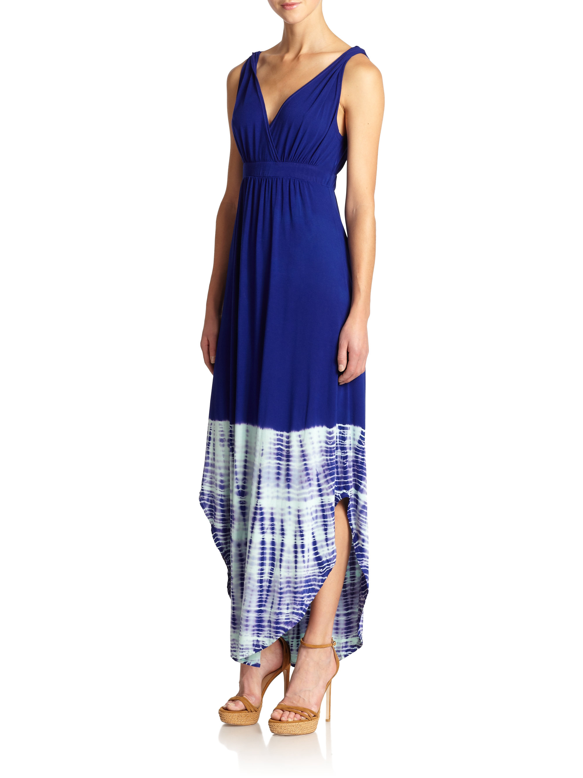 Bamboo maxi dress gypsy 05 embroidered