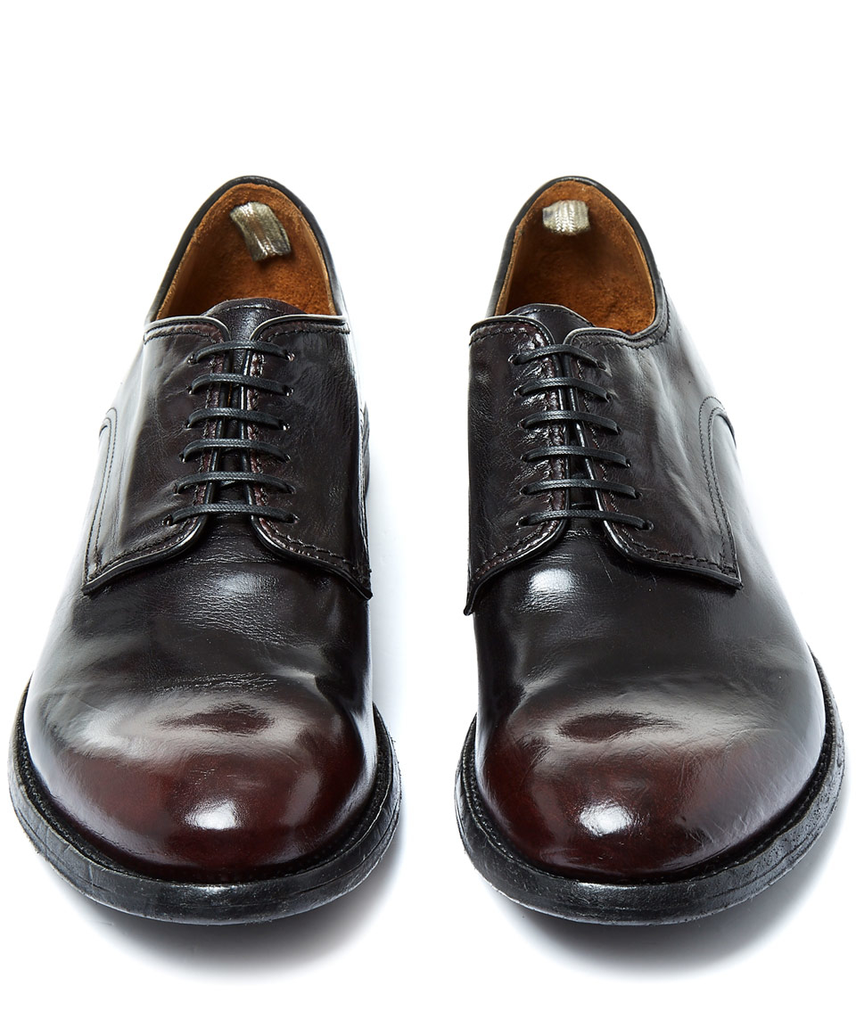 Dark Shoes 'ignis' Leather In Officine Oxford Brown Creative UZqY5ww6