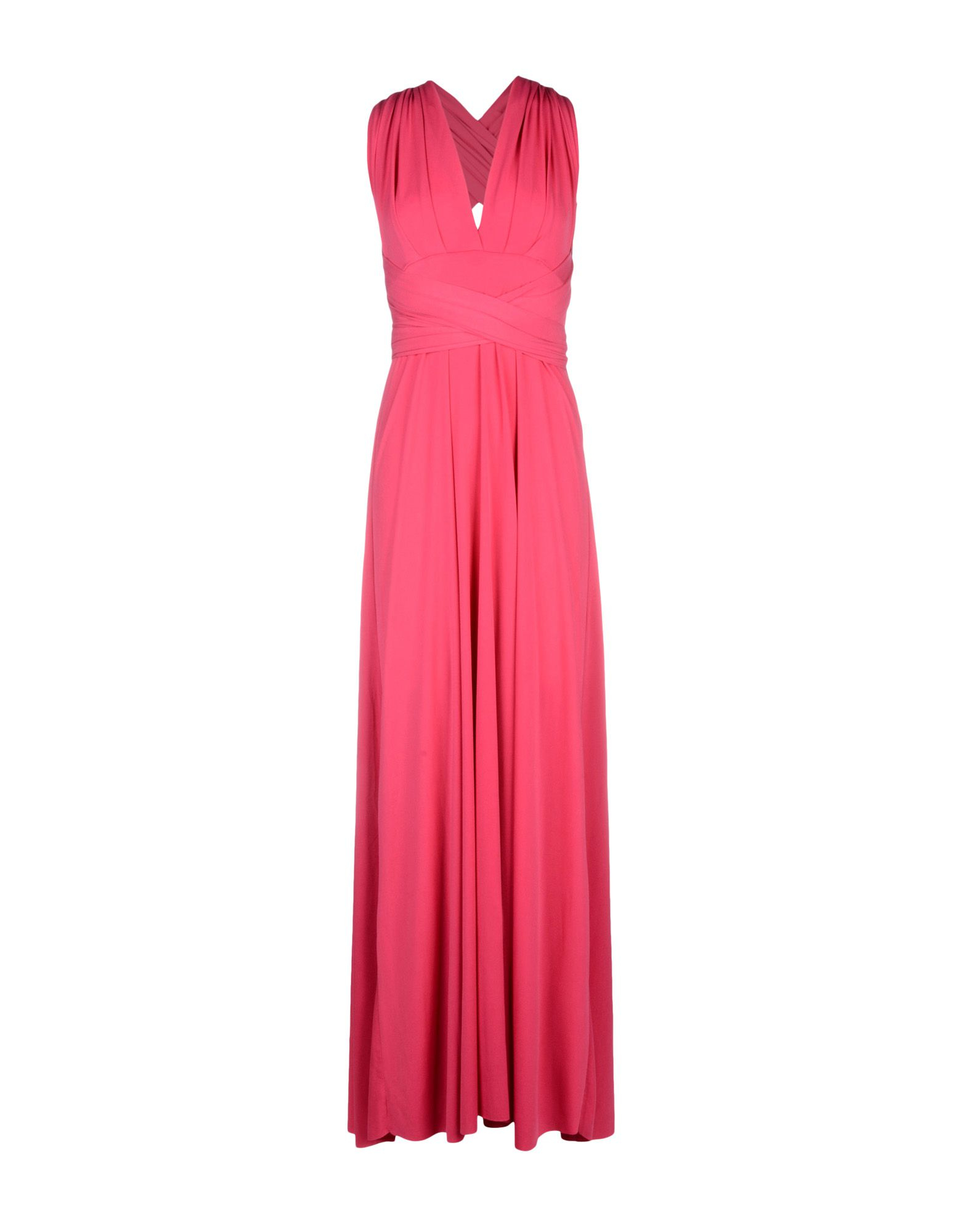 405d88b81d Von Vonni Long Dress in Pink - Lyst