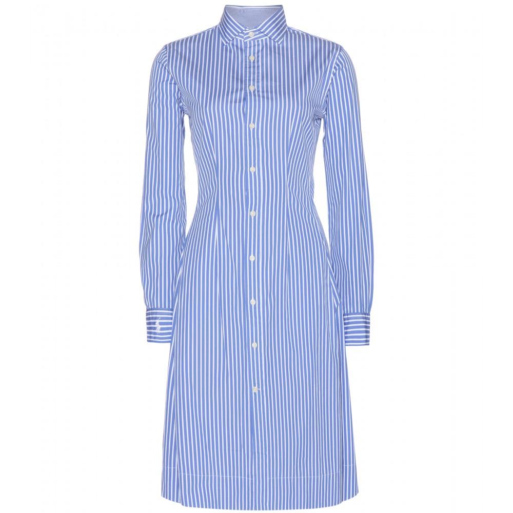 Lyst Polo Ralph Lauren Olivia Striped Cotton Shirt Dress