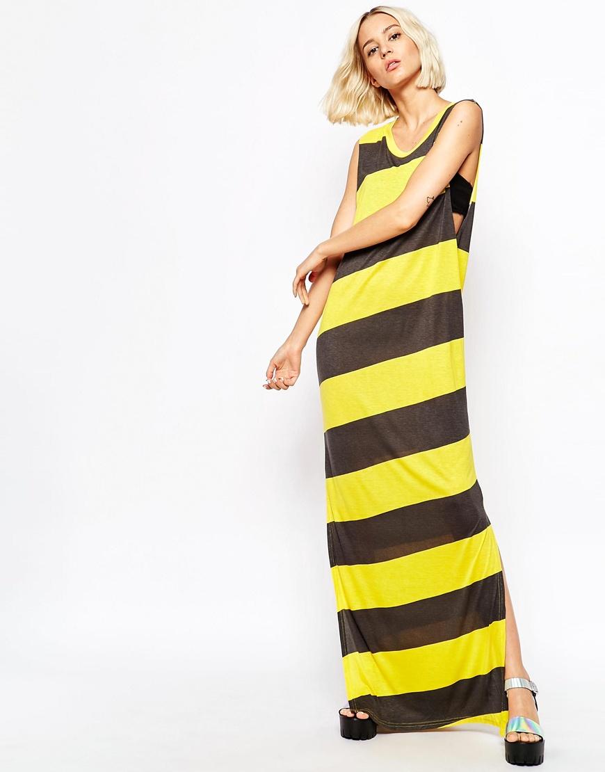 Cheap Chevron Maxi Dress