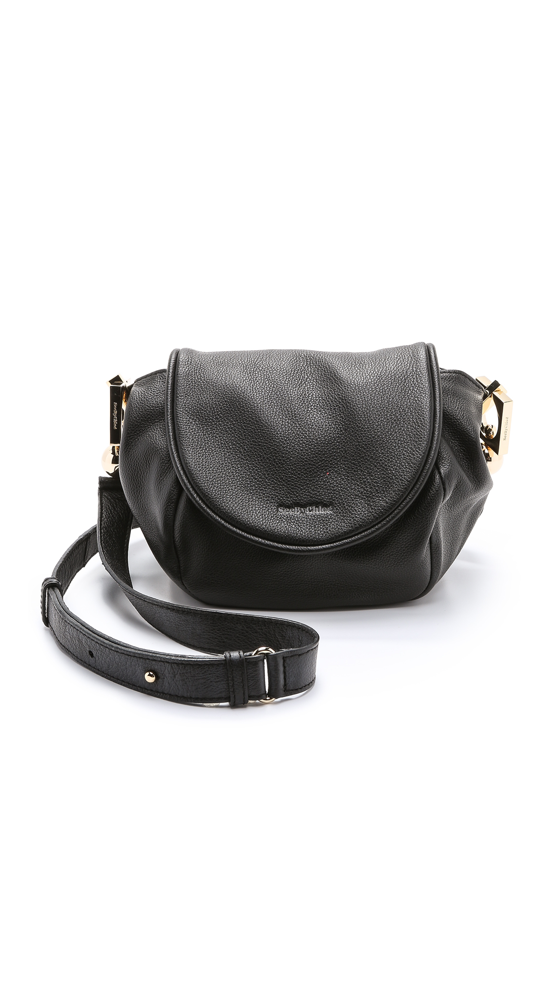 chloe imitation - See by chlo�� Lena Messenger Bag in Black | Lyst