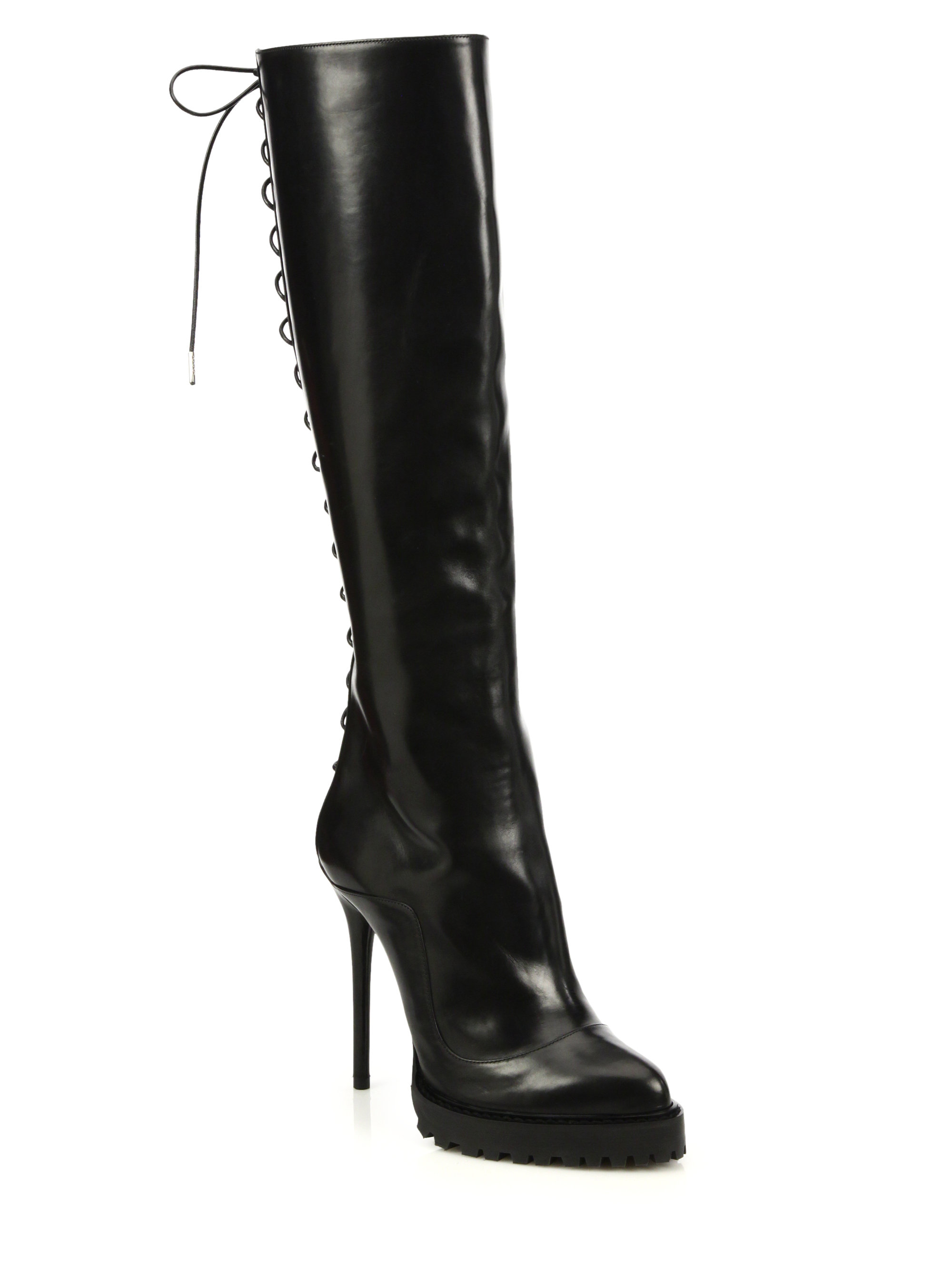 Knee-high leather boots - results from brands Journee collection, Brinley, Miz Mooz, products like Women's Journee Collection Womens Extra Wide Calf Knee-high Riding Boots Orange Medium Leather, Women's Pleaser Pink Label Dream Knee-High Boot - Black Faux Leather Boots, Women's Frye Melissa Button Women's Cowboy Boot F Boot .