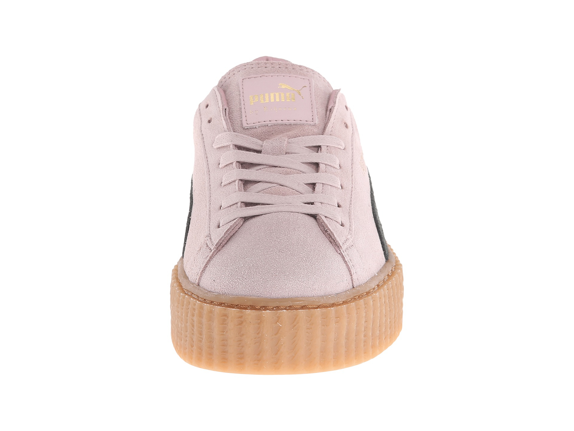 70bee0925d0a62 Lyst - PUMA Rihanna X Suede Creepers in Pink