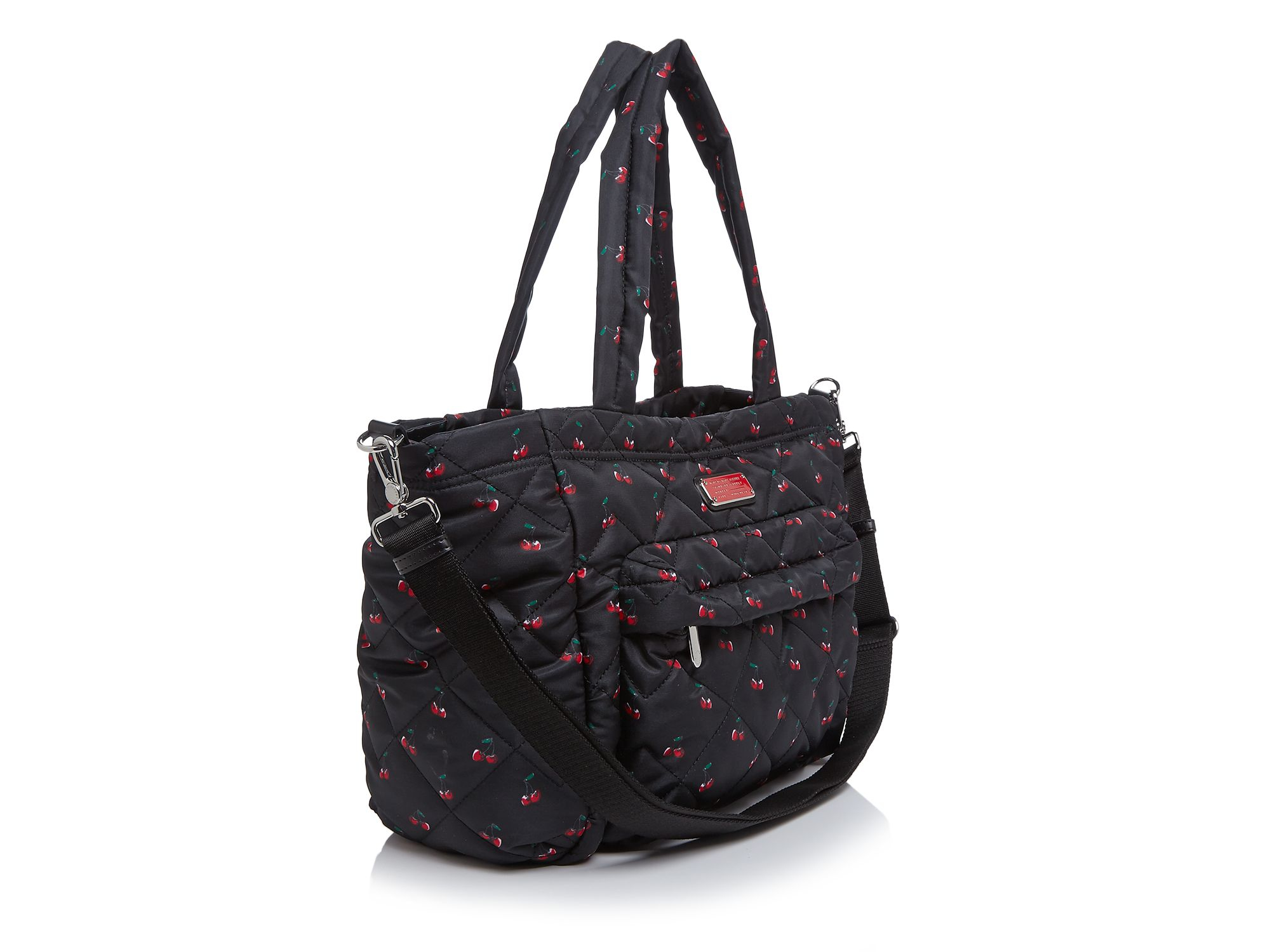 841159fe0397 Lyst Marc By Jacobs Crosby Quilted Cherry Print Elizababy