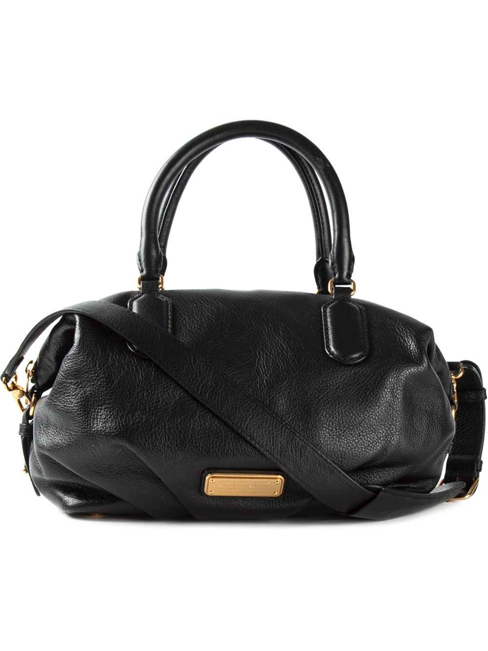 marc by marc jacobs 39 new q legend 39 tote in black lyst. Black Bedroom Furniture Sets. Home Design Ideas