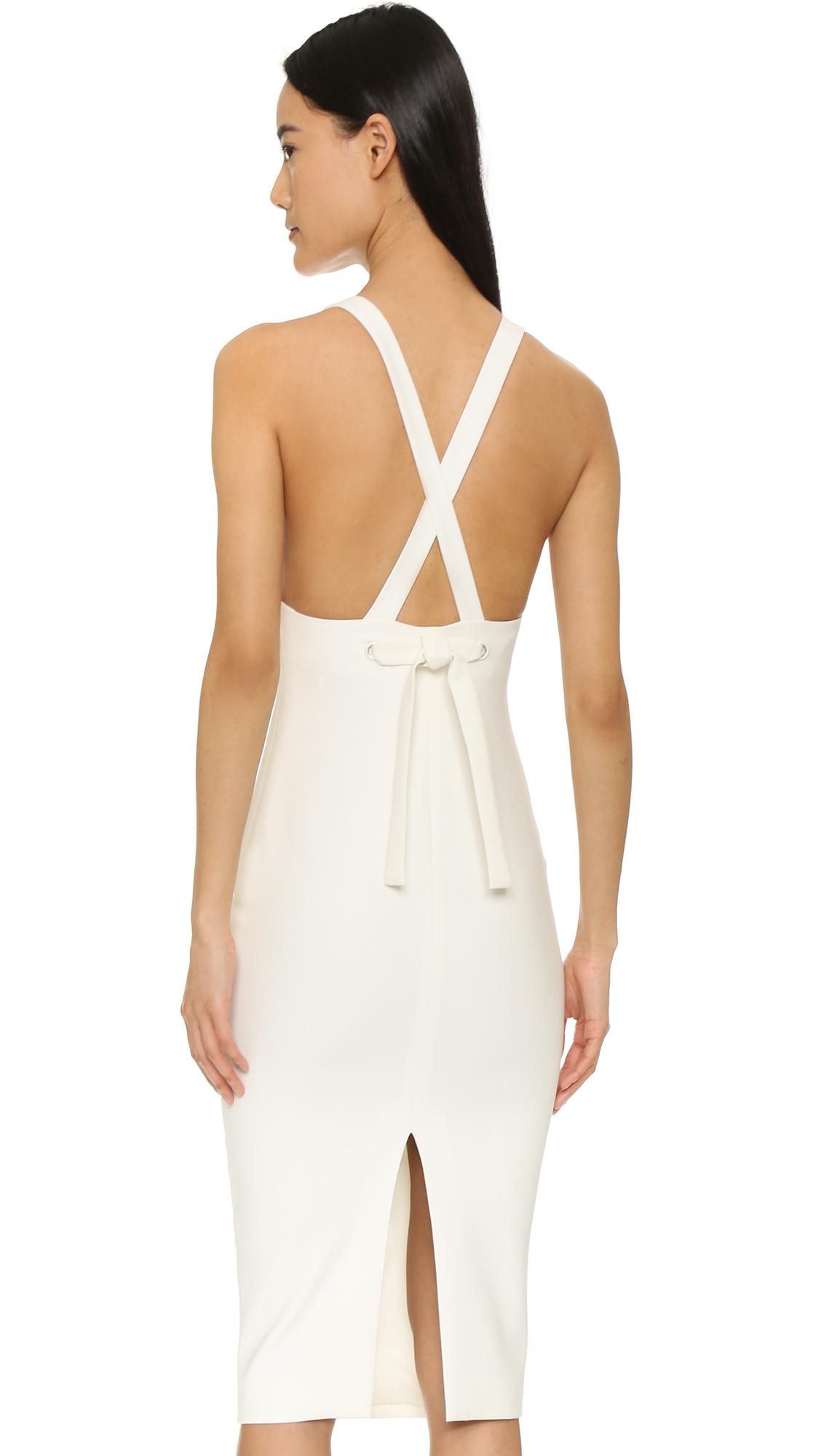 lyst elizabeth and james darla dress in white. Black Bedroom Furniture Sets. Home Design Ideas