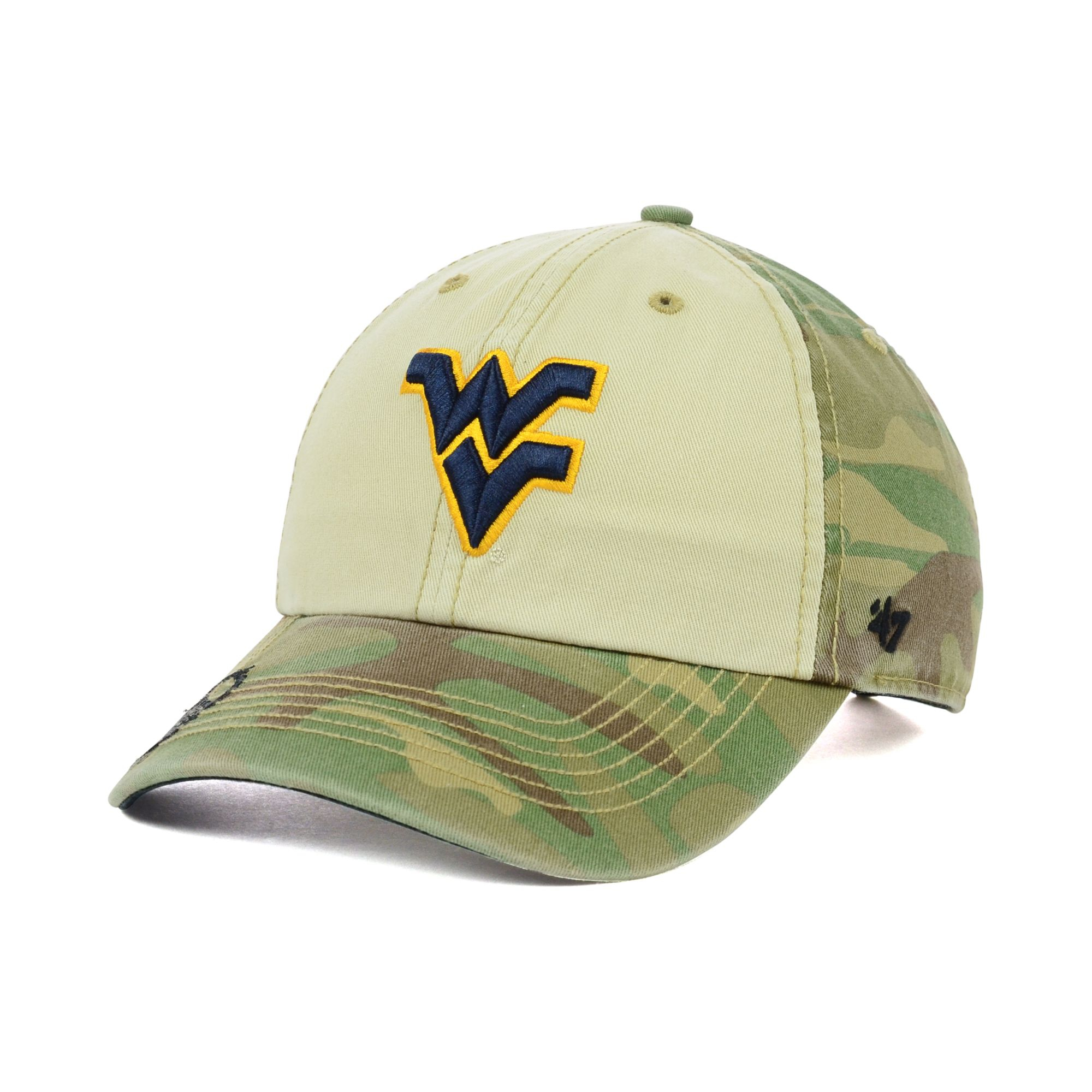 4239b204fe3 ... uk lyst 47 brand west virginia mountaineers oht gordie clean up cap  53da4 59eea