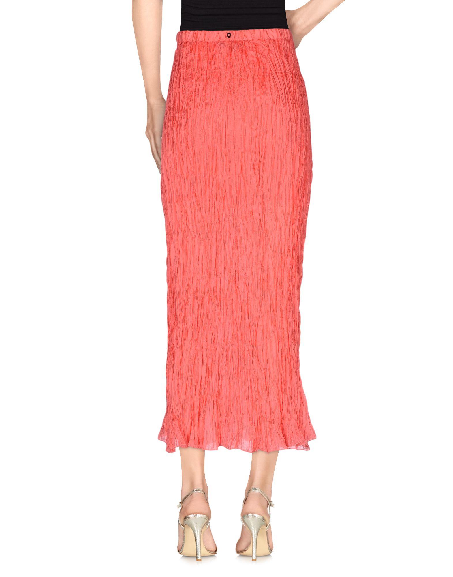 Lyst - Pennyblack Long Skirt in Red