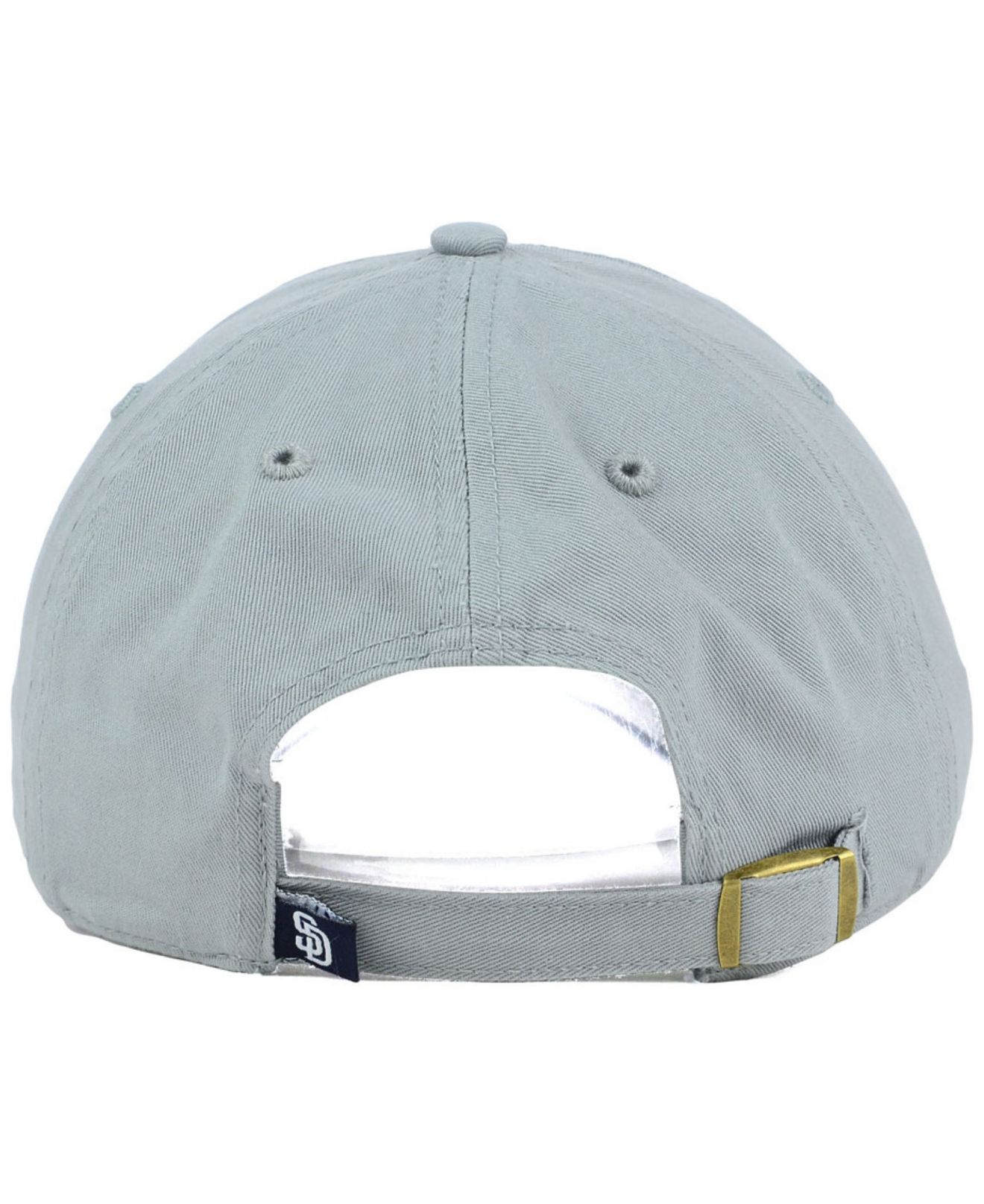 hot sale online d981b 13093 47 Brand San Diego Padres Adjustable Cap in Gray for Men - Lyst