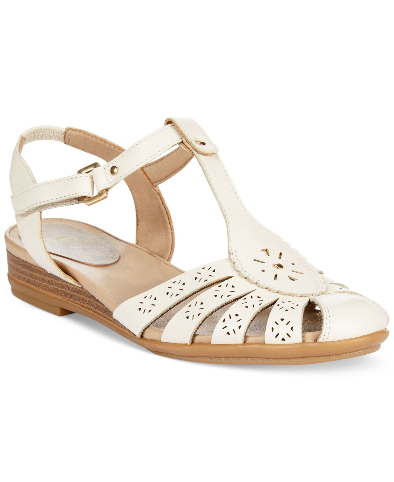 Lyst Easy Spirit Delcine Sandals In White