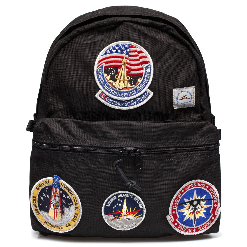 Epperson mountaineering Black Vintage Nasa Patch Daypack ...
