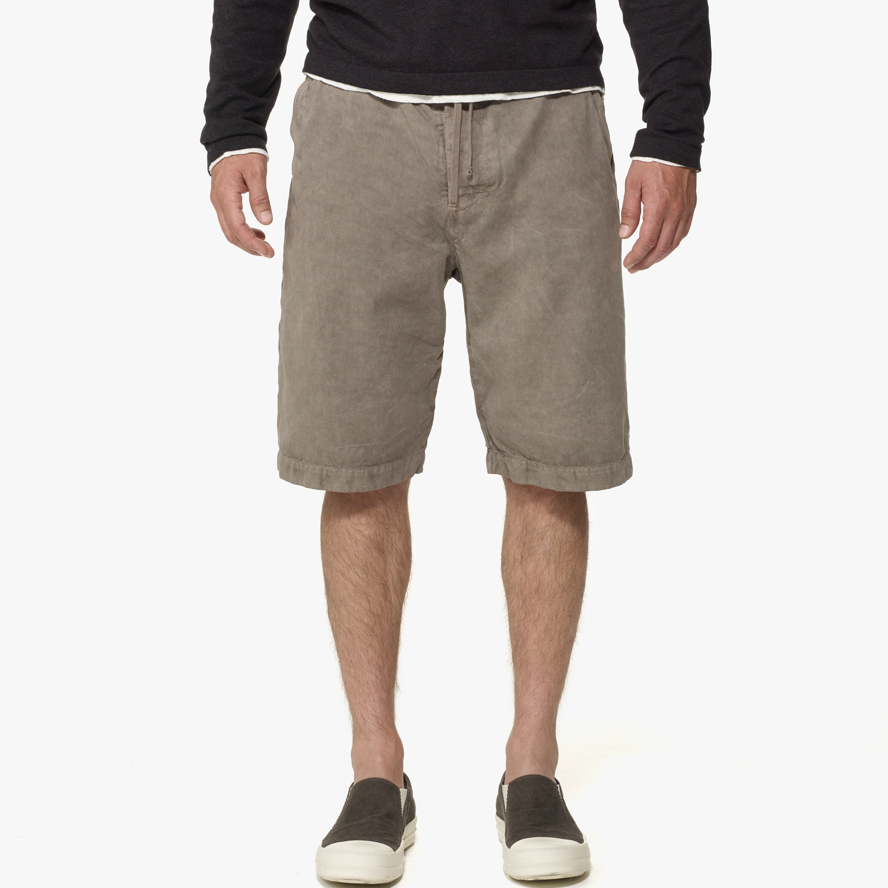 Mens Cotton Chino Shorts James Perse Discount Outlet bRTR4j