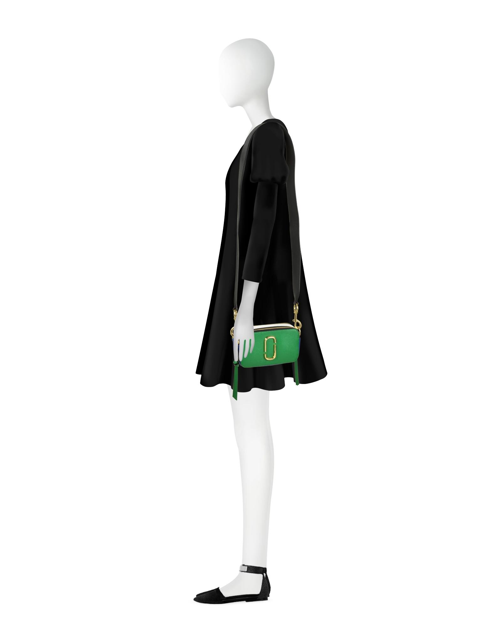 15a9437e3eb0 Marc Jacobs Snapshot Green Grass Saffiano Leather Small Camera Bag ...