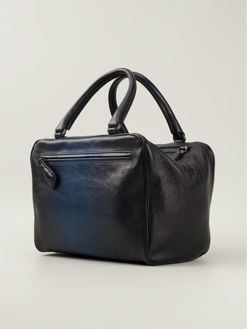 Lyst Bottega Veneta Brera Tote In Blue New Small Circle Gallery