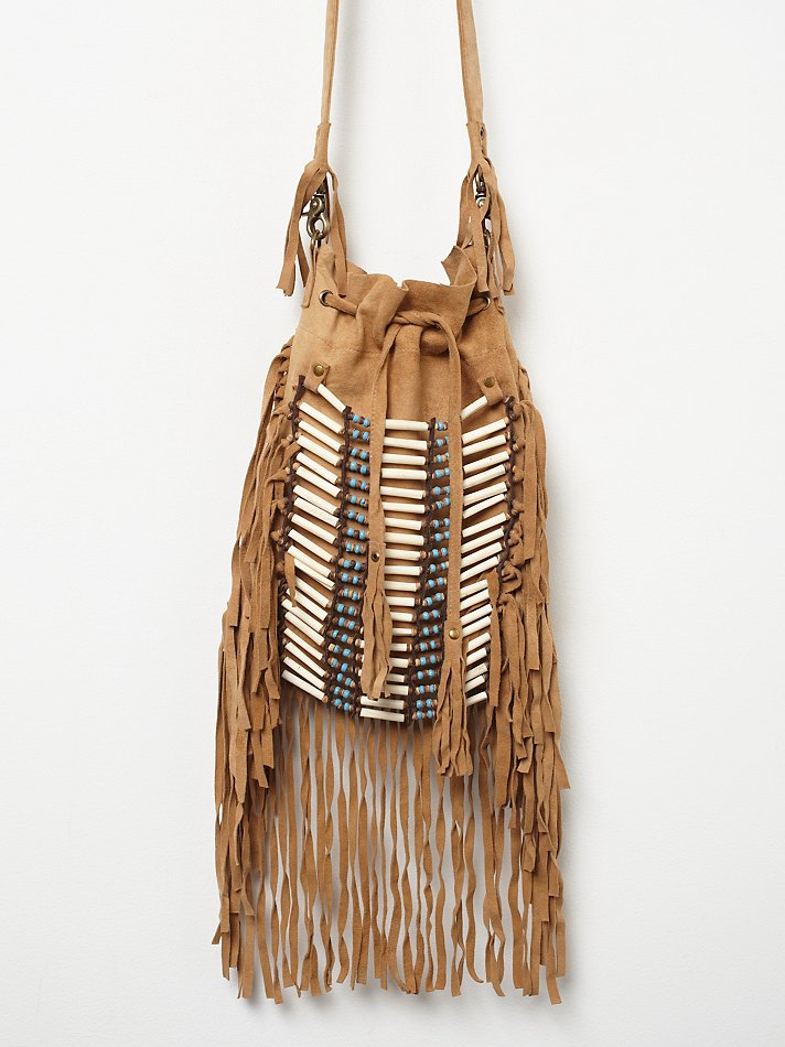 6b70529ccce9 Lyst - Free People Dreamweaver Crossbody in Brown