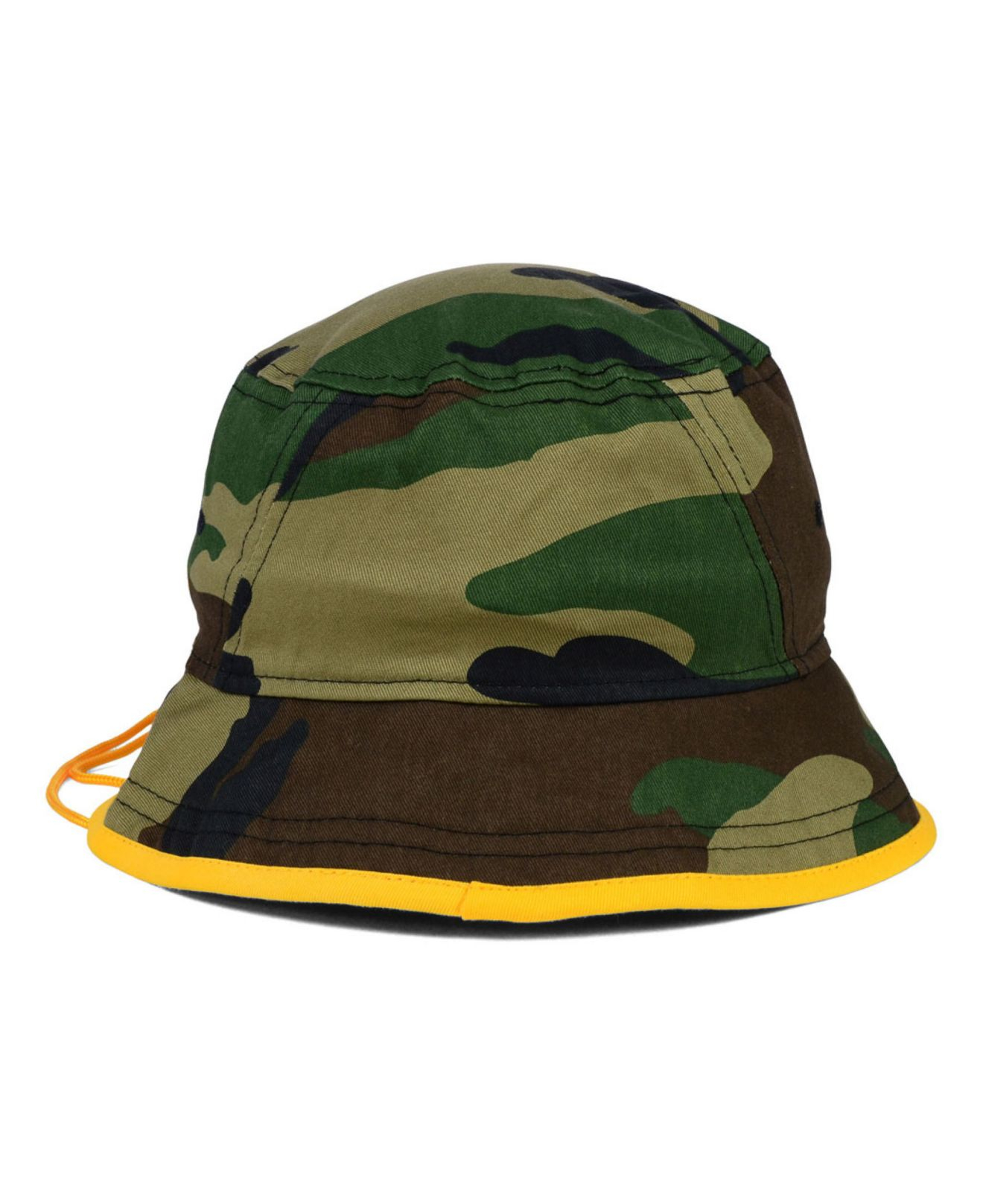 pretty nice 472d3 7ede0 ... where can i buy lyst ktz green bay packers camo pop bucket hat in green  for