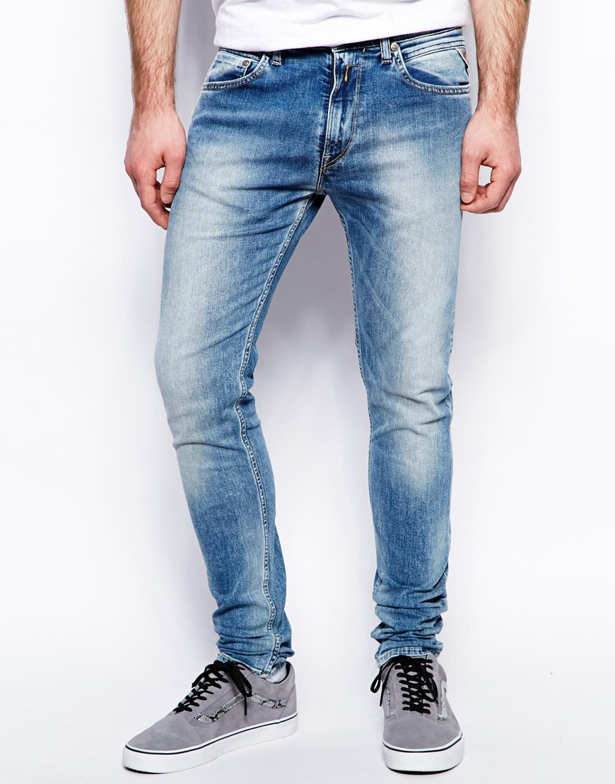 Mens Jondrill Slim Jeans Replay Cheap Sale Extremely Discount Get To Buy 1VXS6q