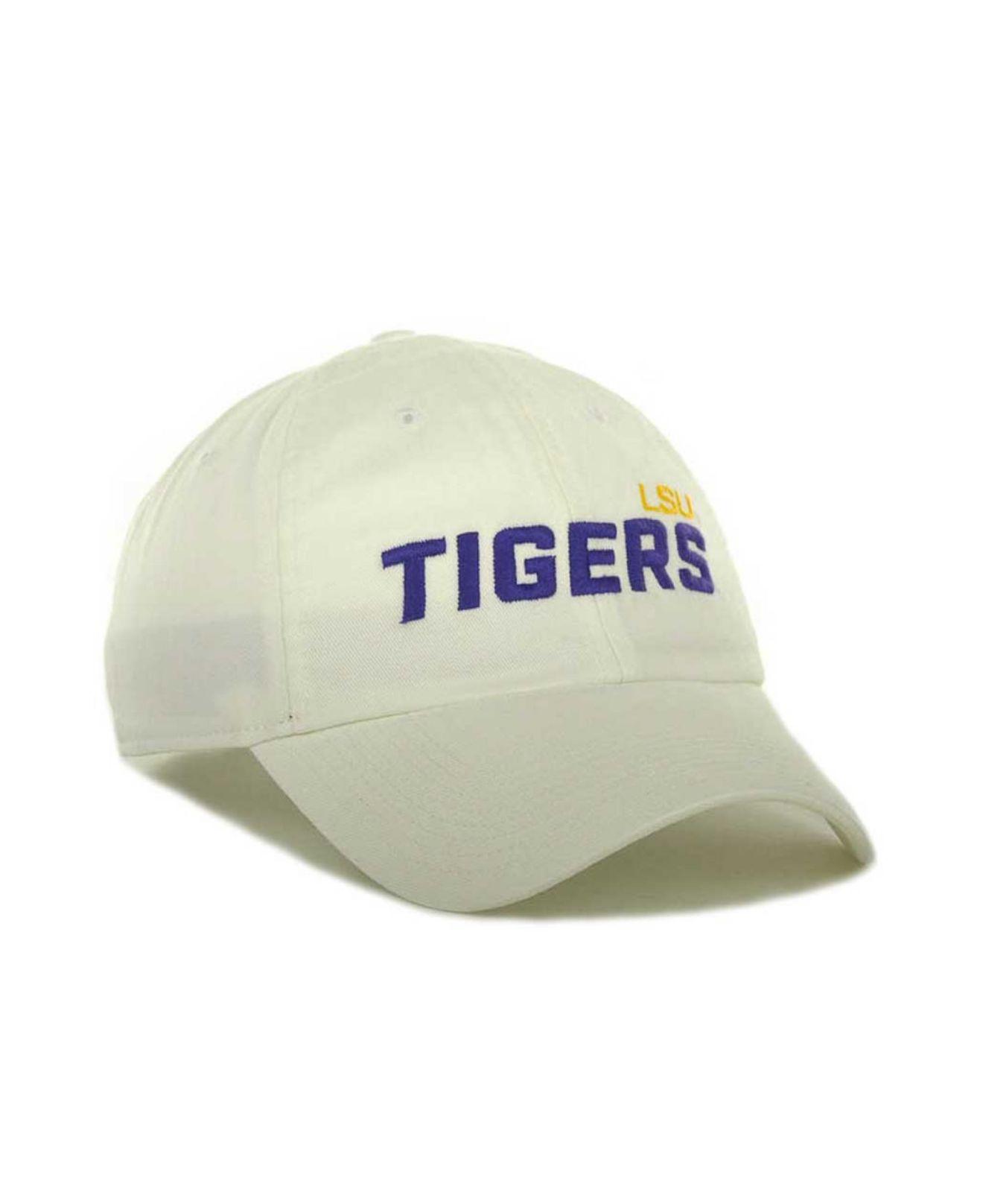 8bcac57543f ... sale lyst nike lsu tigers heritage 86 campus cap in white for men ba0e8  ddfa5