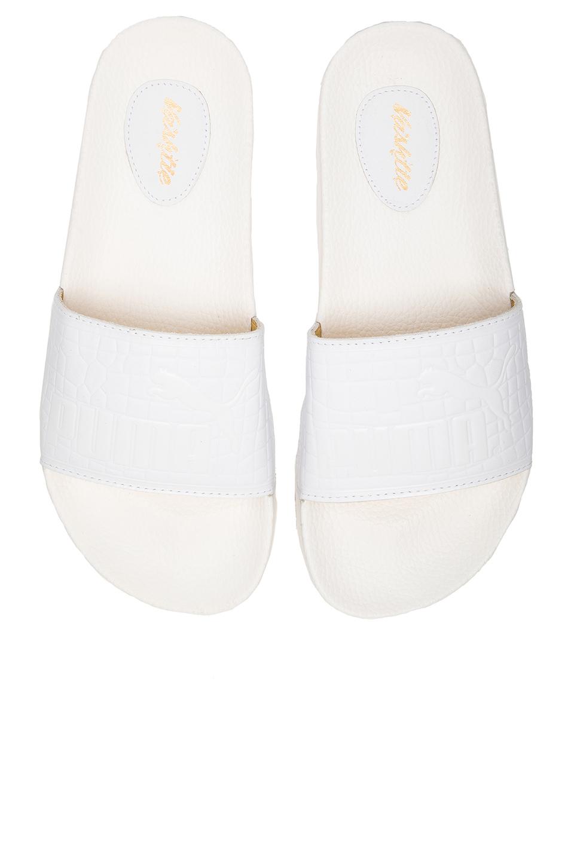 f29a6c7dadde4 Lyst - Puma Select X Vashtie Top Slide in White for Men