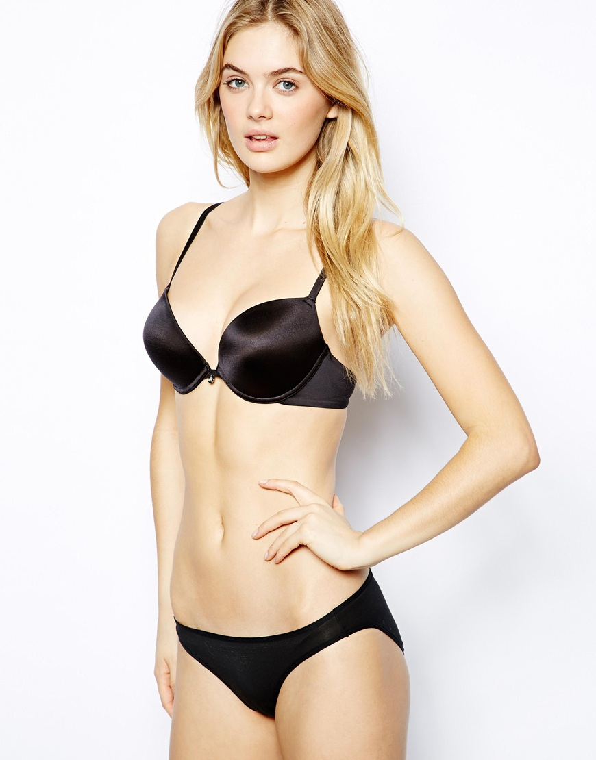 095a6917f5 Lyst - Ultimo The One Lightweight Push Up Bra in Black