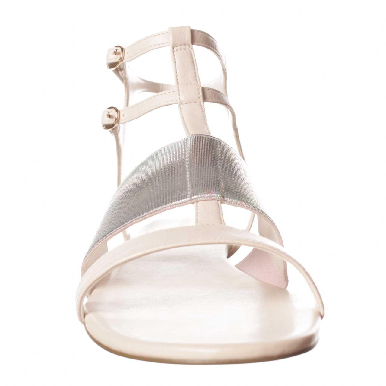 Enzo Angiolini Nyri Gladiator Sandal In Natural Lyst