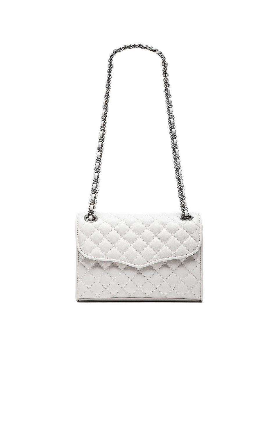 Lyst Rebecca Minkoff Quilted Mini Affair In White