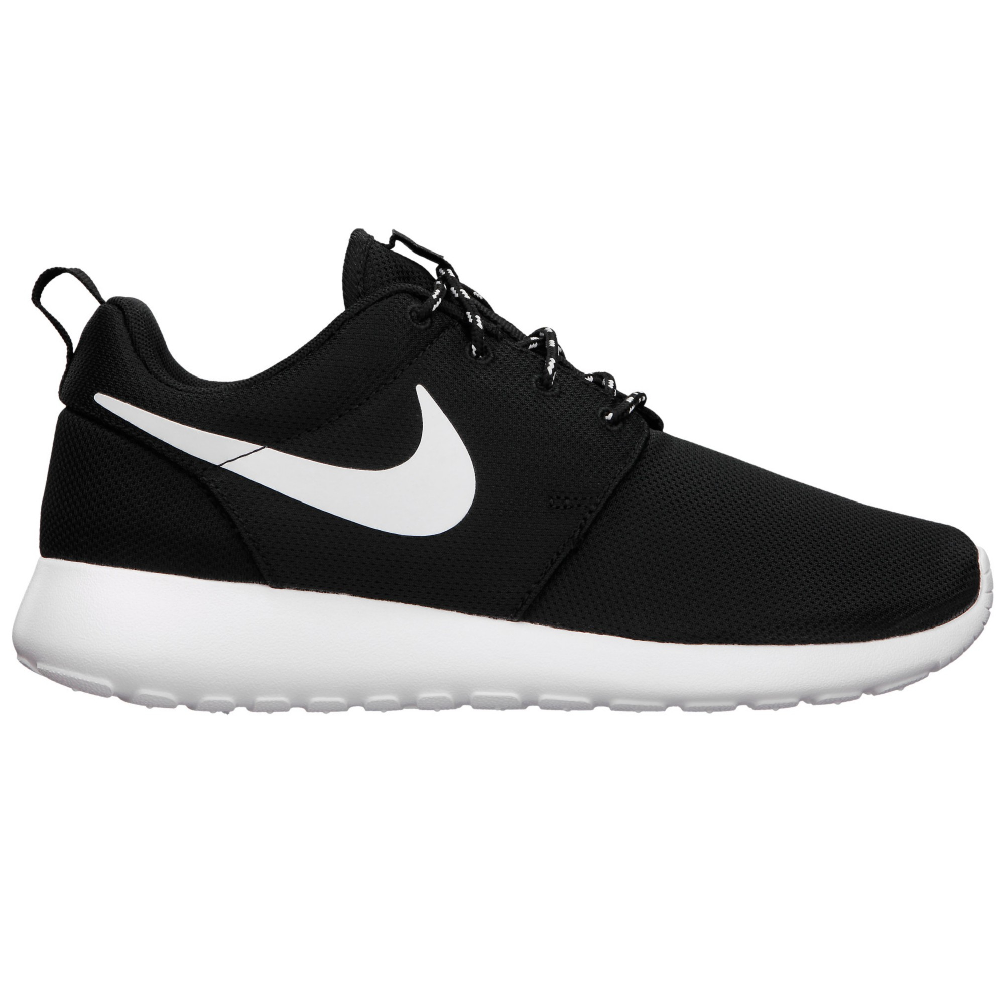 nike roshe run womens shoes in black lyst
