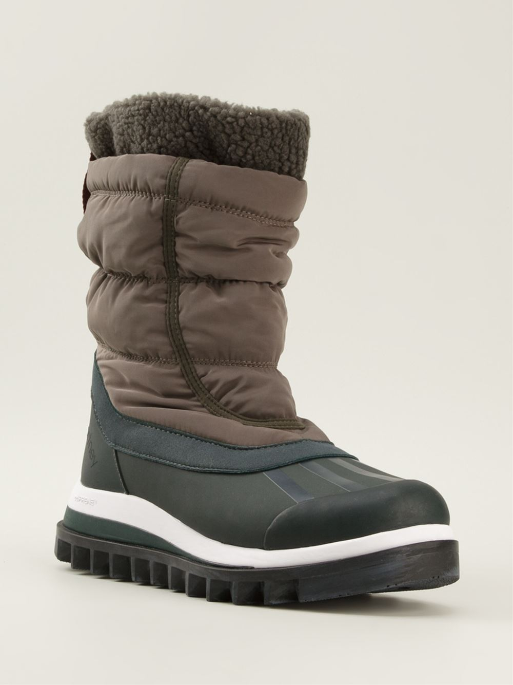 Lyst Adidas By Stella Mccartney Snow Boots In Green