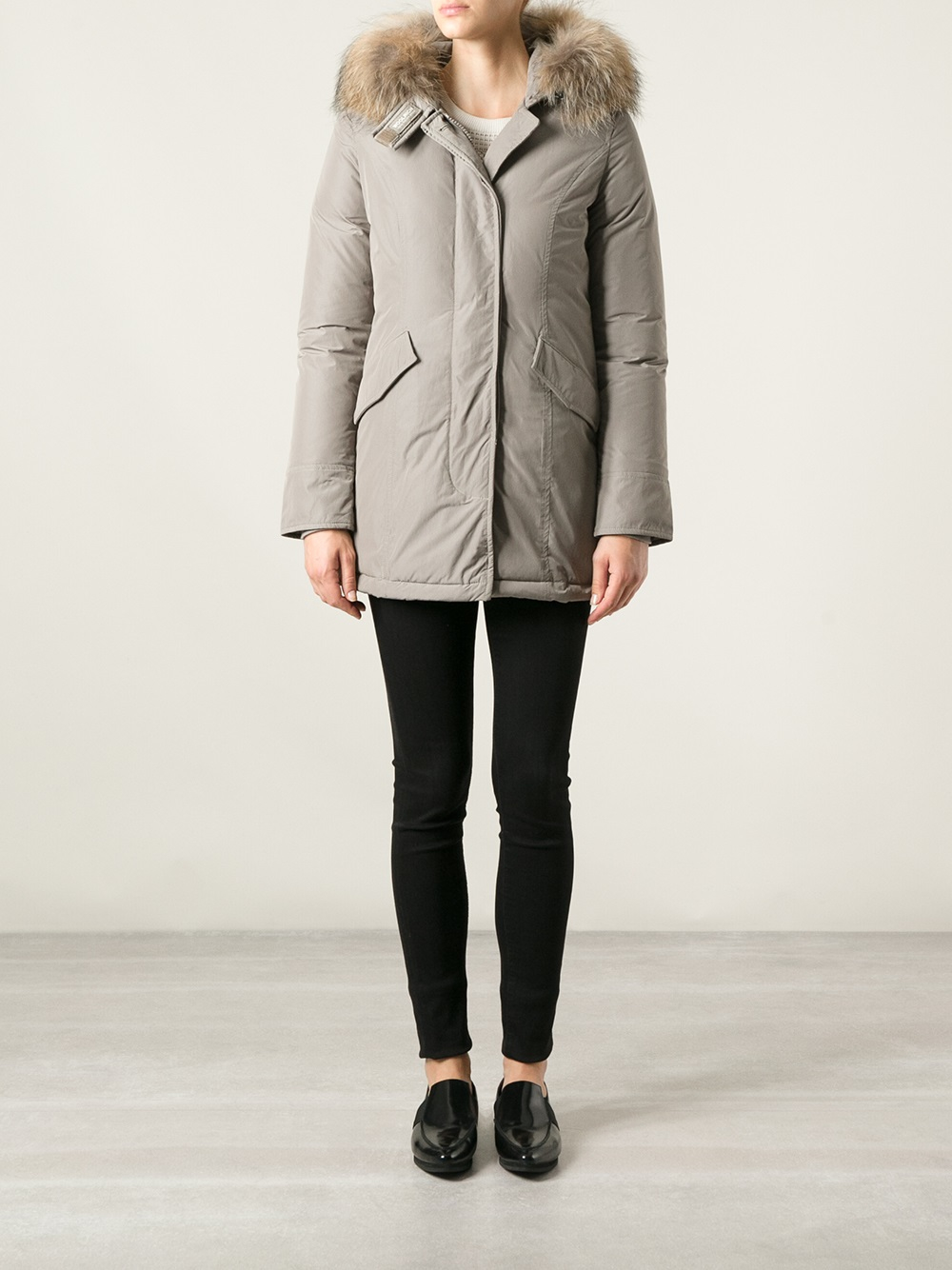 Luxury In Lyst Parka Arctic Brown Gray Woolrich C5AxqT1wx