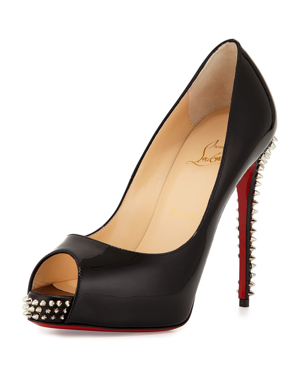 christian-louboutin-blacksilver-new-very-prive-studded-peep-toe-red-sole-pump-black-product-2-351977930-normal.jpeg