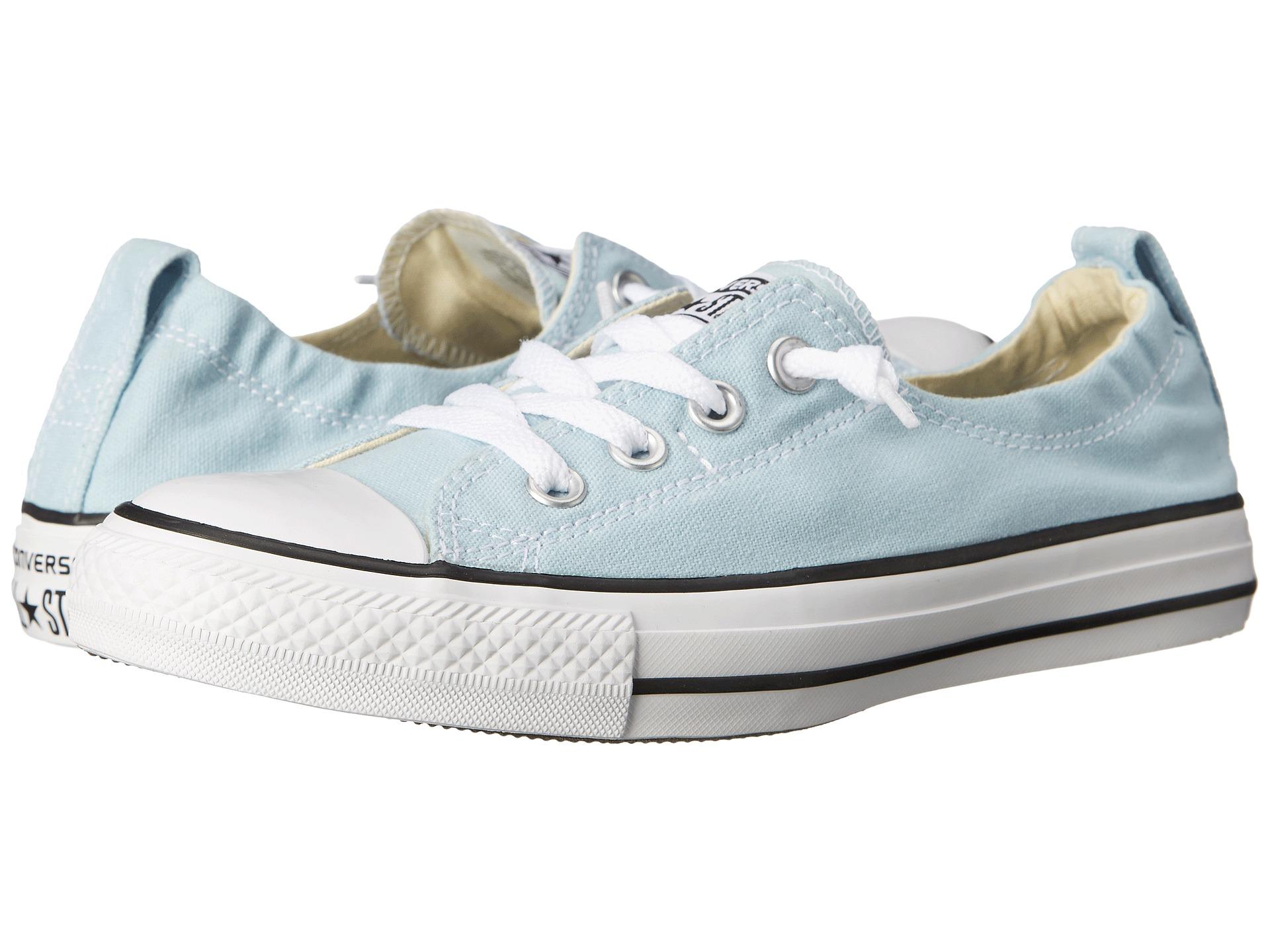 eb77c9a5683eb7 Lyst - Converse Chuck Taylor® All Star® Fashion Basics Shoreline in Blue