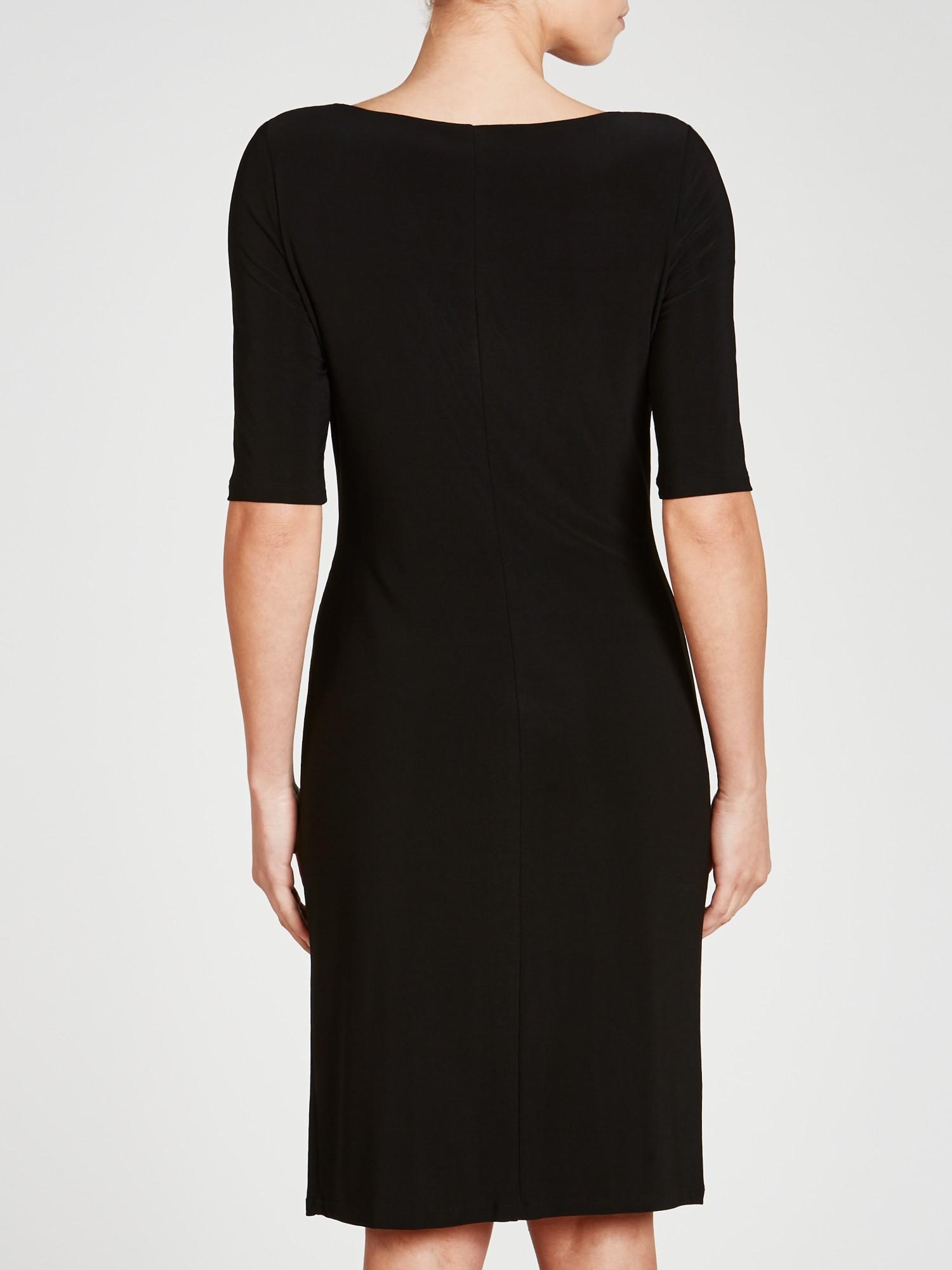Lauren By Ralph Lauren Carleton Dress In Black Lyst