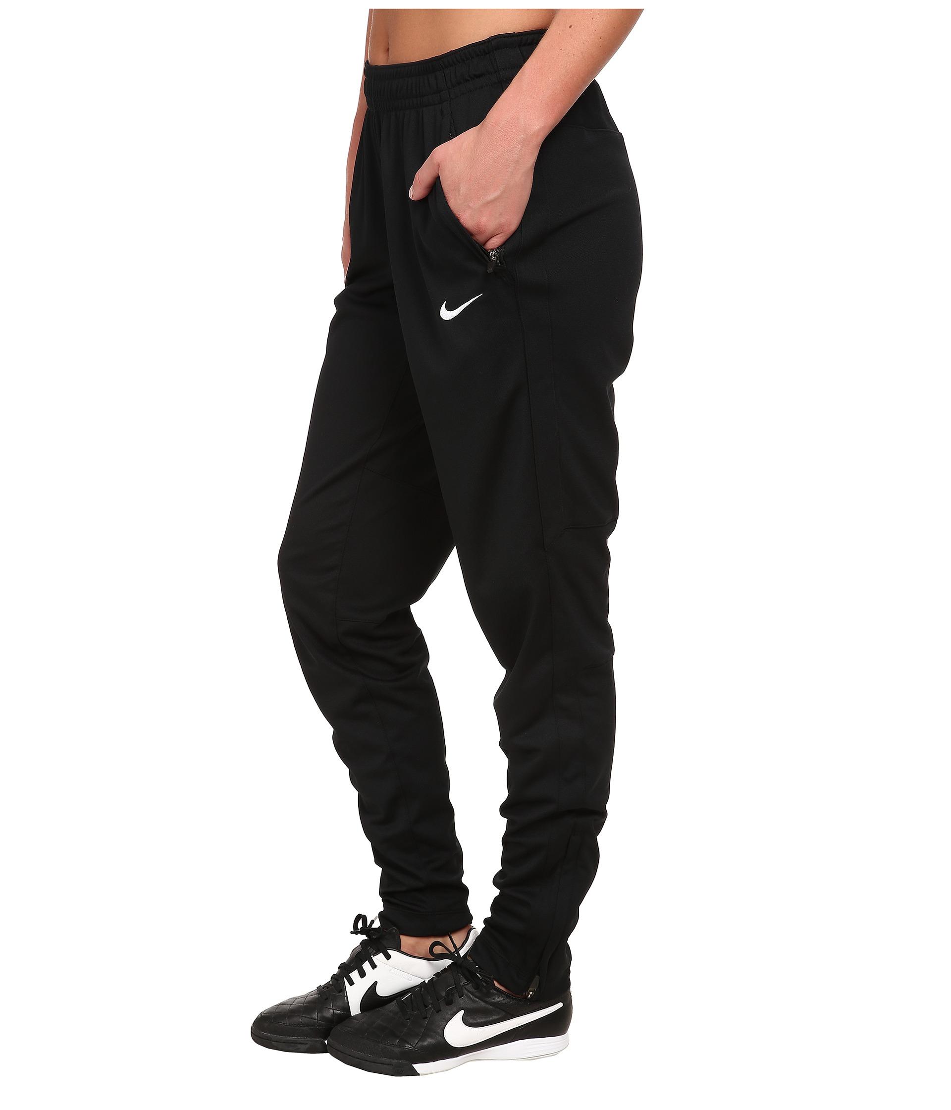 Nike Dri-fit™ Soccer Knit Pant in Black | Lyst
