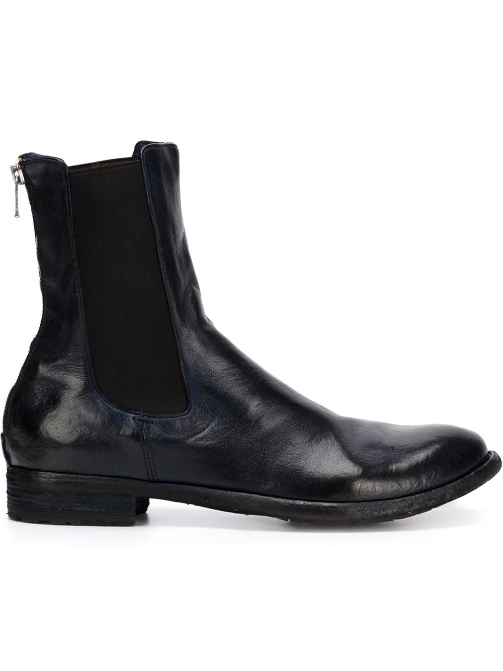 Lastest Lyst - Officine Creative Zip Ankle Boots In Brown