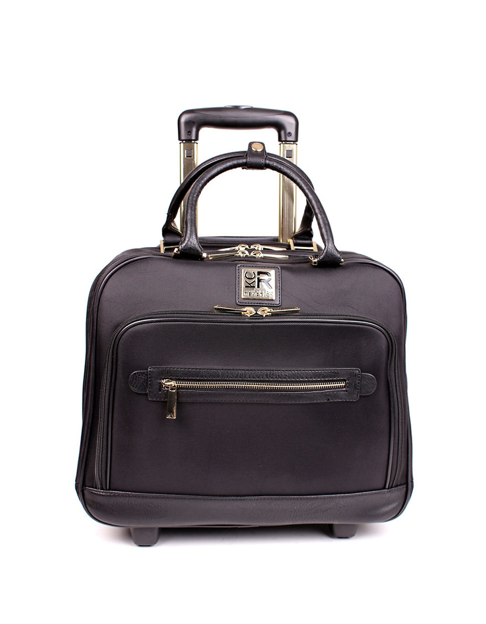 Lyst Kenneth Cole Reaction Carry On Wheeled Tote In Black