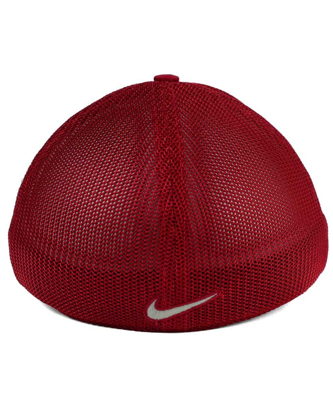 757d943fcc1 ... clearance lyst nike washington state cougars l91 mesh swoosh flex cap  in red 25ca5 52dbd