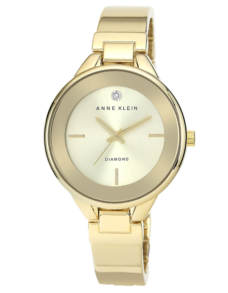 klein bangle bracelet in gold lyst