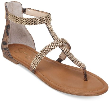Jessica Simpson Leopard Flat Shoes