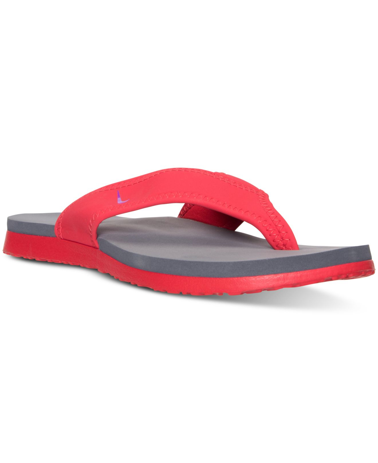 0d6bd4d0244d0a Lyst - Nike Men s Celso Plus Thong Sandals From Finish Line in Red for Men