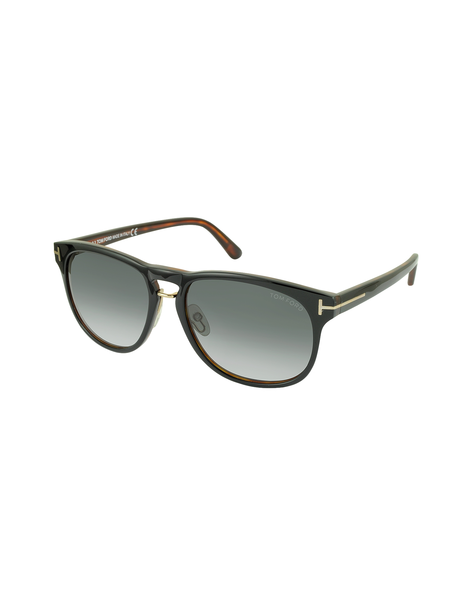 Lyst Tom Ford Franklin Ft0346 01v Dark Brown Aviator Sunglasses in